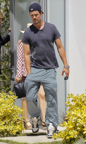 Fergie and Josh Duhamel out and about in Los Angeles, America - 04 Jun 2013