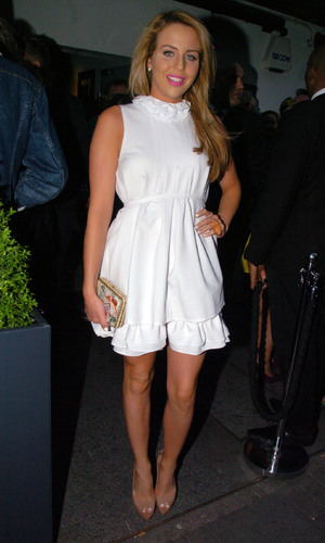 Lydia Bright - Celebrities are seen arriving to Retro Feast pop-up restaurant - 5 June 2013