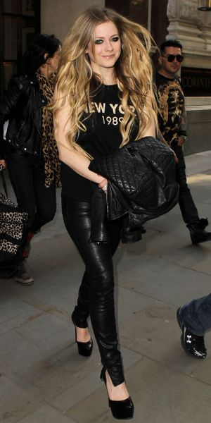 Avril Lavigne out and about, London, Britain - 05 Jun 2013