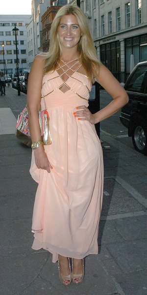 Made In Chelsea star Francesca Hull has birthday party at Retro Feasts at 29 Old Burlington Street, June 7 2013