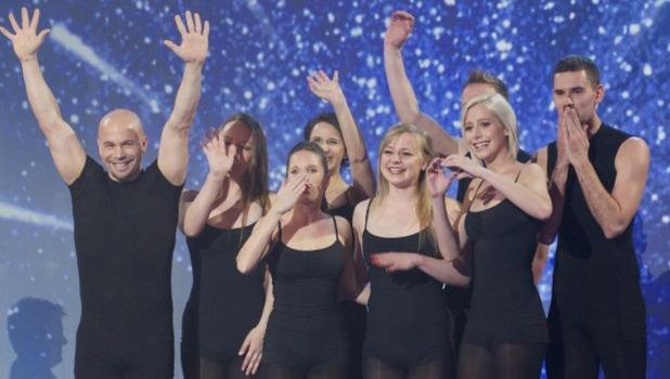 Attraction. 'Britain's Got Talent' Final TV Programme, London, Britain. - 08 Jun 2013