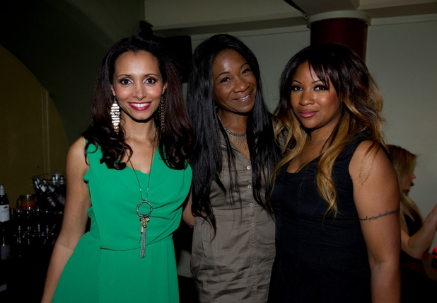 The Honeyz at Launch for Blind Date show in London - 4 June 2013