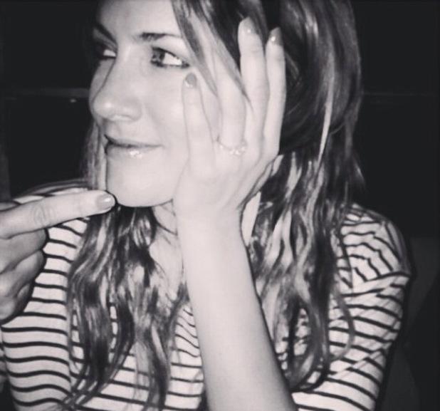 Caroline Flack wears wedding ring - 10 May 2013