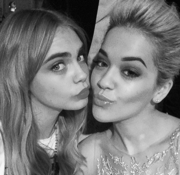 Cara Delevingne, Rita Ora Instagram Glamour women of the year