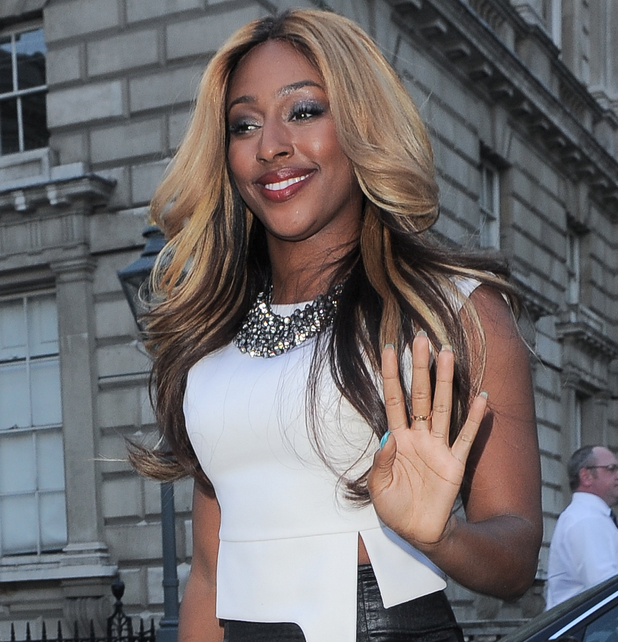 Alexandra Burke at F&F Autumn/Winter 2013 Collection Showcase held at Somerset House - Outside - 17 May 2013