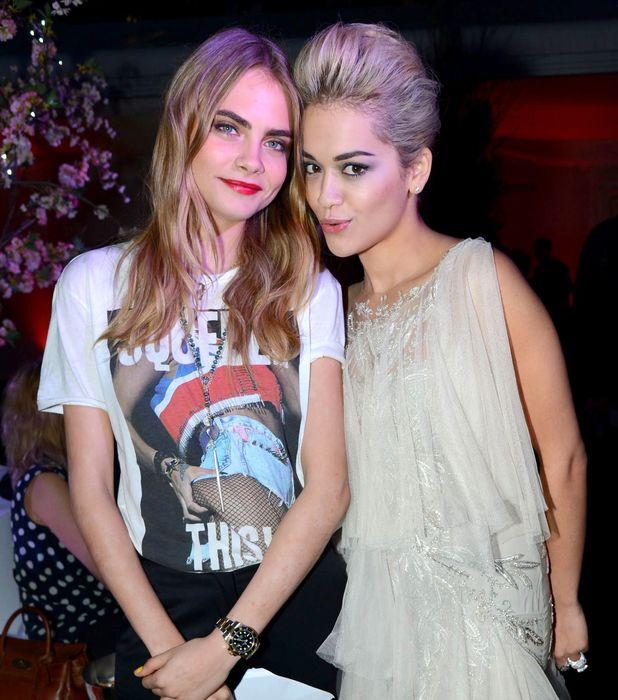 Cara Delevingne, Rita Ora glamour awards london
