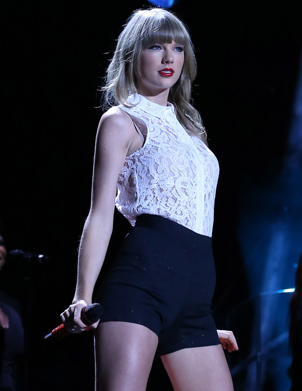 Taylor Swift performs at LP Field on day 1 of the 2013 CMA Music Festival