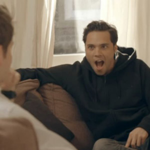 Made In Chelsea's Lucy Watson walks into living room with just her underwear on leaving Stevie Johnson and Andy Jordan speechless