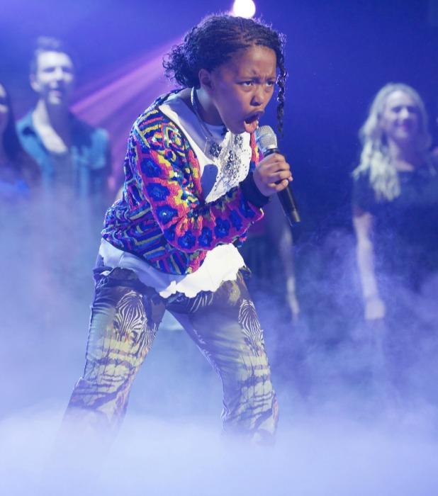 Asanda. 'Britain's Got Talent' Final TV Programme, London, Britain. - 08 Jun 2013