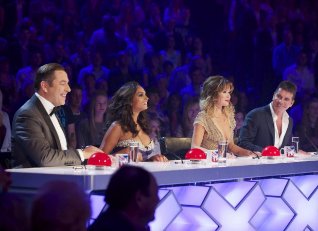 Simon Cowell, Alesha Dixon, Amanda Holden, David Walliams. 'Britain's Got Talent' Final TV Programme, London, Britain. - 08 Jun 2013