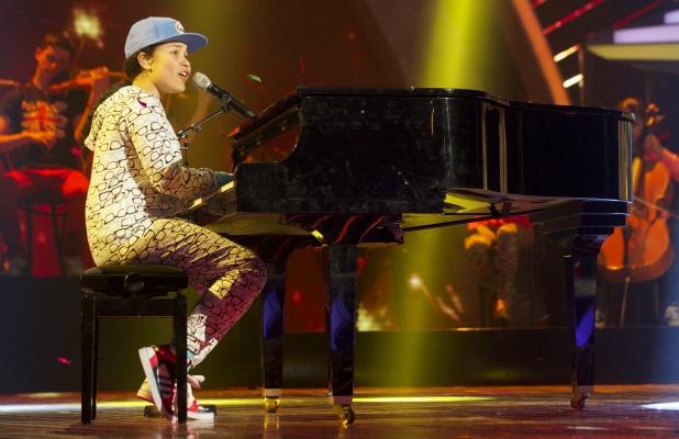 Gabz Gardiner. 'Britain's Got Talent' Final TV Programme, London, Britain. - 08 Jun 2013