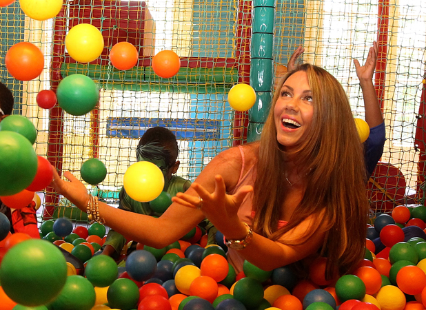Michelle Heaton ambassador of Fayre & Square and Wacky Warehouse's Little Heroes competition