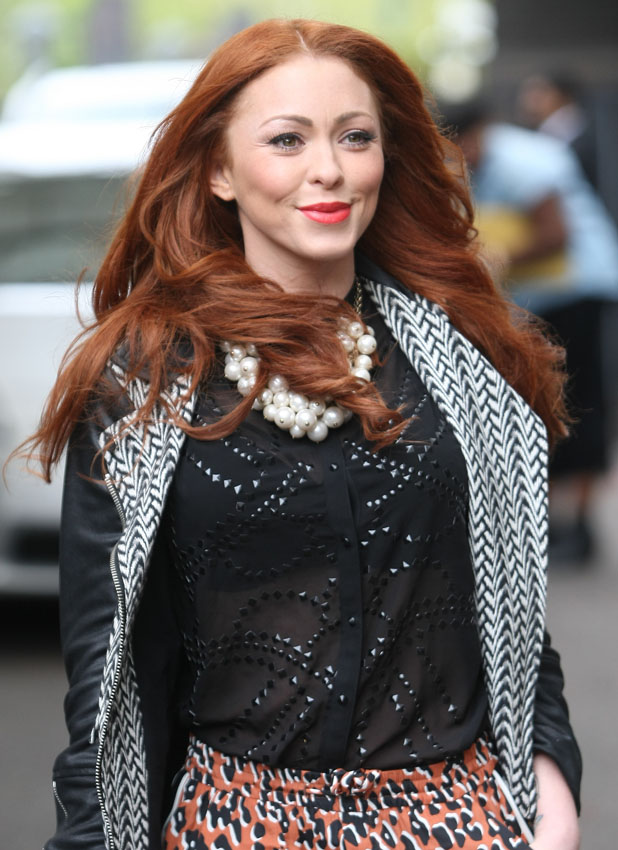 Celebrities at the ITV studios Person In Image: Natasha Hamilton Credit :WENN.com Special Instructions : Date Created :05/14/2013