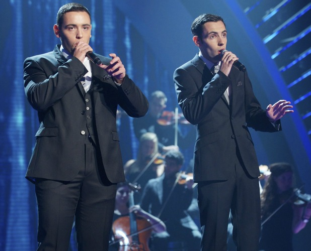 Richard & Adam. 'Britain's Got Talent' Final TV Programme, London, Britain. - 08 Jun 2013