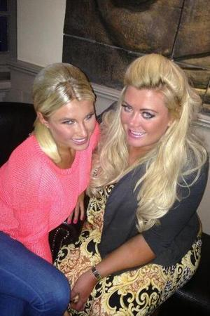 TOWIE's Gemma Collins and Billie Faiers have a night out - 13 June 2013