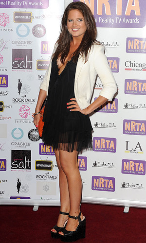 Binky Felstead, National Reality Television Awards 2012 held at the Porcester Hall - Arrivals. 30 August 2012