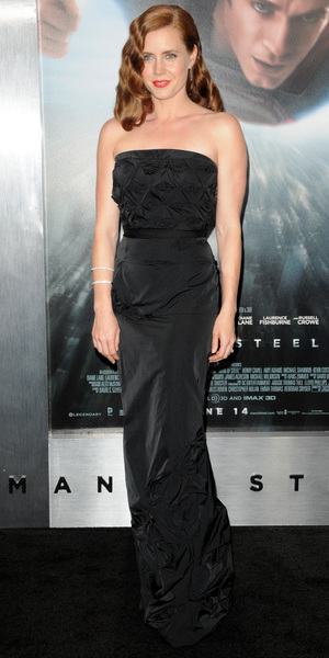 Amy Adams World premiere of 'Man of Steel' at Alice Tully Hall at Lincoln Center- Arrivals