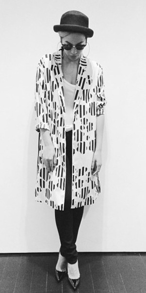 Beyonce topshop coat instagram