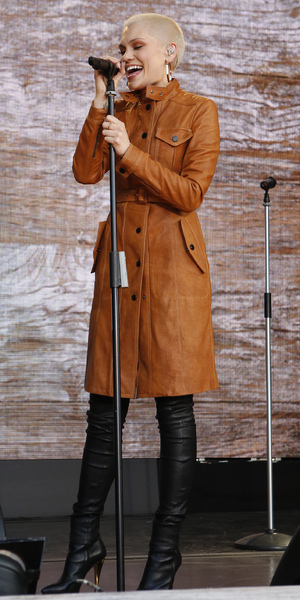 Jessie J preforms at ONE campaign agit8 Tate Modern