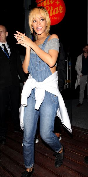 Rihanna at All Star lanes in Manchester 12.06.13
