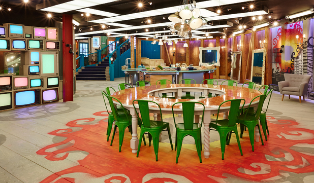 Big Brother house - living area - 2013