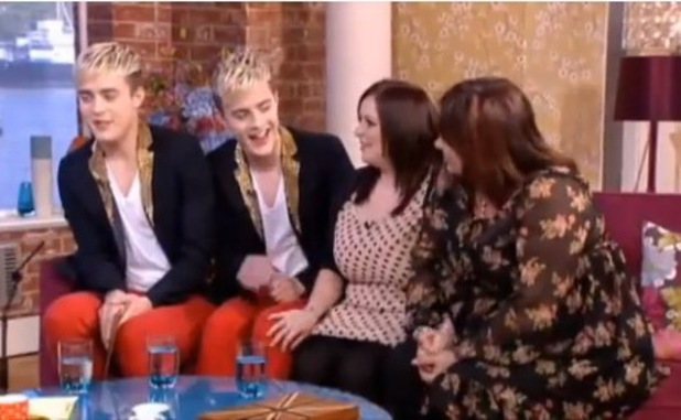 Jedward superfans Laura Morris and Julie Adkin appear on This Morning - June 2013