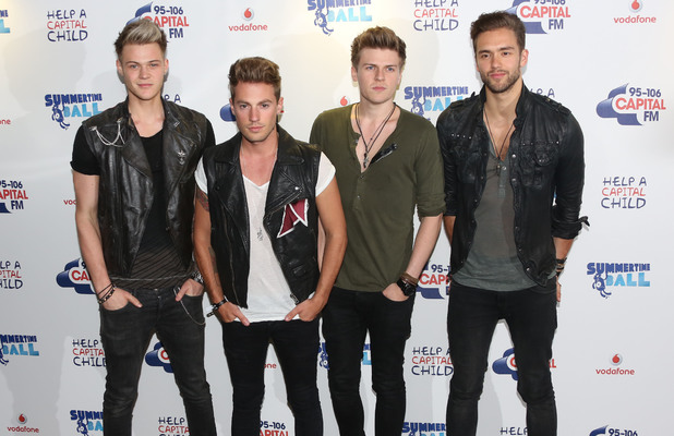 Lawson at Capital FM Summertime ball 2013 held at Wembley Stadium