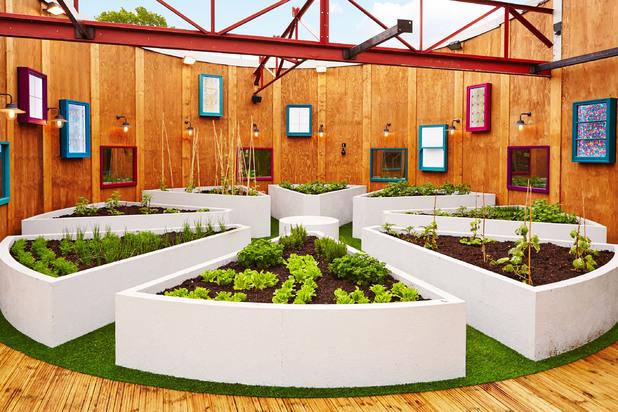 Big Brother house - garden - 2013