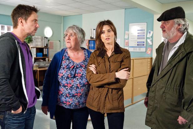 Emmerdale, Debbie worries about Belle, Wed 26 Jun