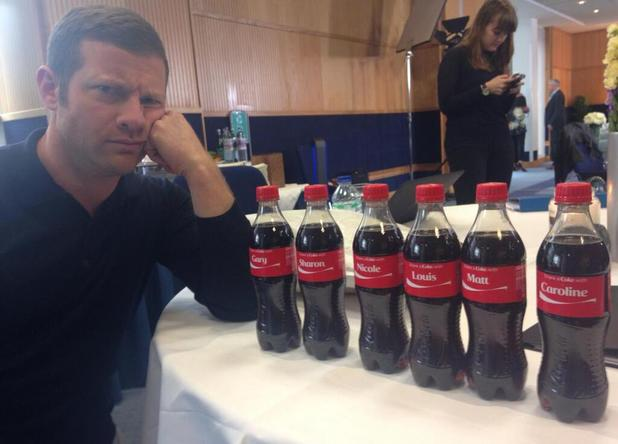 Dermot O'Leary at The X Factor auditions - 10 June 2013