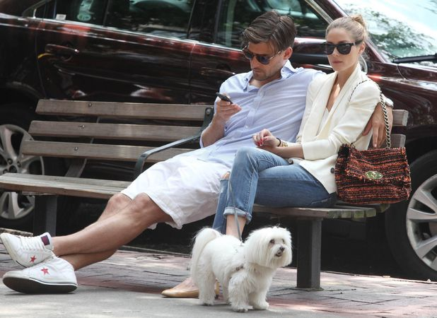 Olivia Palermo Johannes Huebl out and about, New York, America - 09 Jun 2013