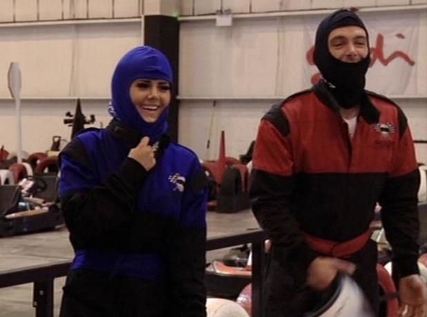 The Valleys cast go go-karting on June 11 2013 episode