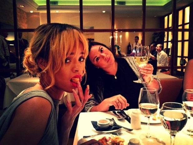 Rihanna at San Carlo Restaurant - 11 June 2013
