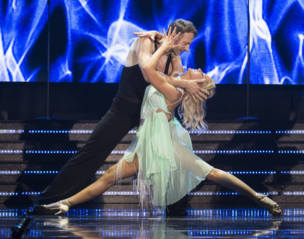 Natalie Lowe and Ian Waite on Strictly Confidential tour