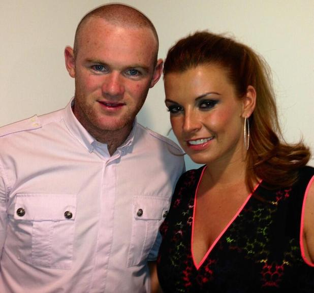Coleen and Wayne Rooney watch Rihanna in Manchester - 12 June 2013