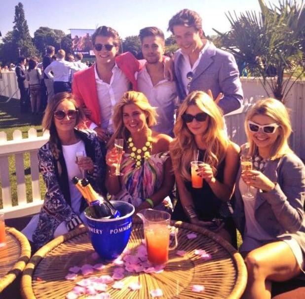 Made In Chelsea cast visit MINT Polo In The Park - 9 June 2013