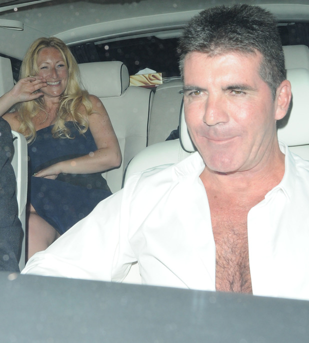 Britain's Got Talent wrap party held at 45 Park Lane - Departures - Simon Cowell