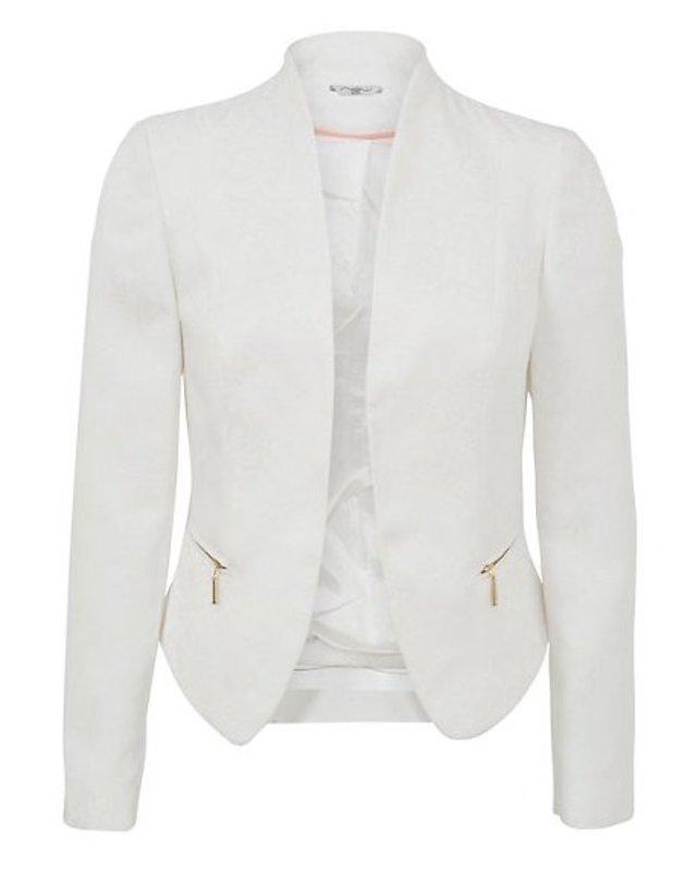 White Jacket Blazer   Fashion Ql