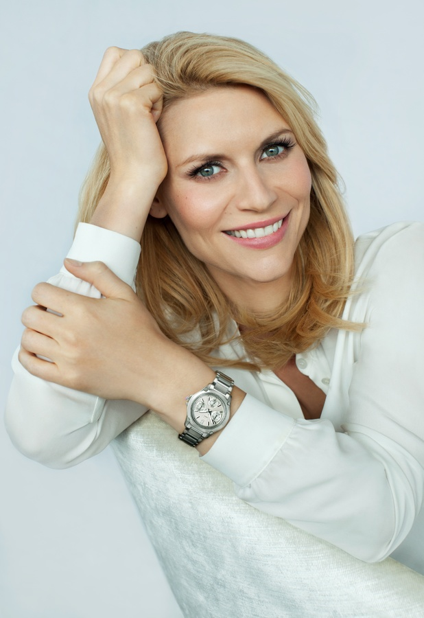 Claire Danes models new Casio Sheen watch SS13