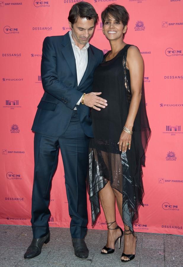 Halle Berry, Olivier Martinez at Champs-Elysees Film Festival 2013