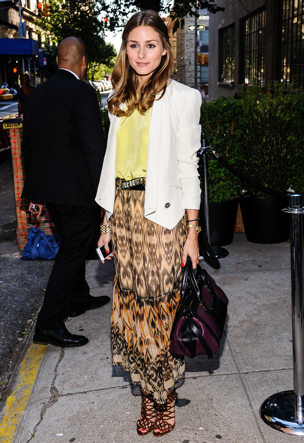 Olivia Palermo SeeByChloe Spring '14 Presentation at Industria Superstudio