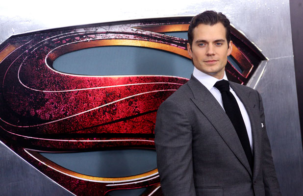 Henry Cavill at the Superman premiere in New York, 10 June 2013