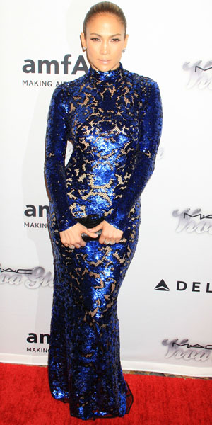 Jennifer Lopez at amfAR Gala on 13 June 2013