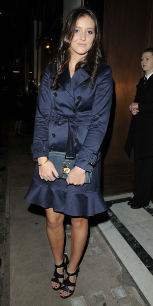 Laura Robson, The 1000, Evening Standard London's Most Influential People launch party, London, Britain - 07 Nov 2012