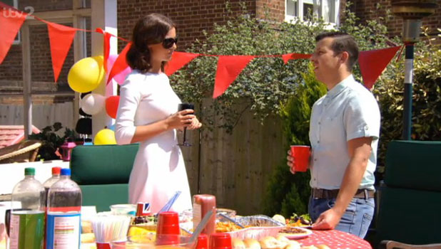 TOWIE: Lucy Mecklenburgh apologises to Lil Chris on 9 June, 2013