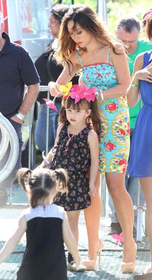 Myleene Klass and her daughter Ava - Big IF London - 8 June