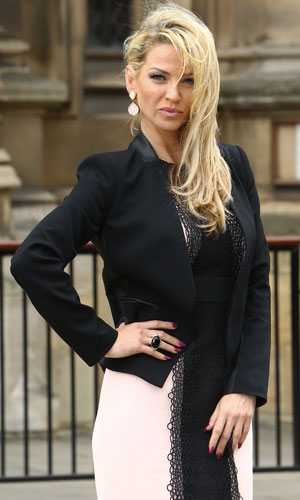 Sarah Harding at the House of Commons, 13 June 2013