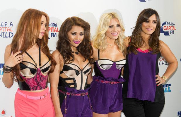 The Saturdays: Una Healy, Vanessa White, Mollie King, Frankie Sandford at Capital FM Summertime Ball, 9 June 2013