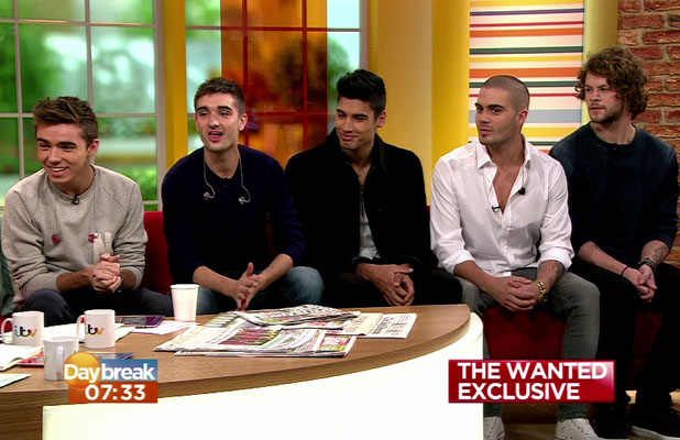 Boy Band The Wanted talk about there new TV show in America 'The Wanted Life' and their latest single 'She Walks Like Rhianna'.