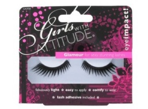 Girls With Attitude Glamour Lashes in Minx